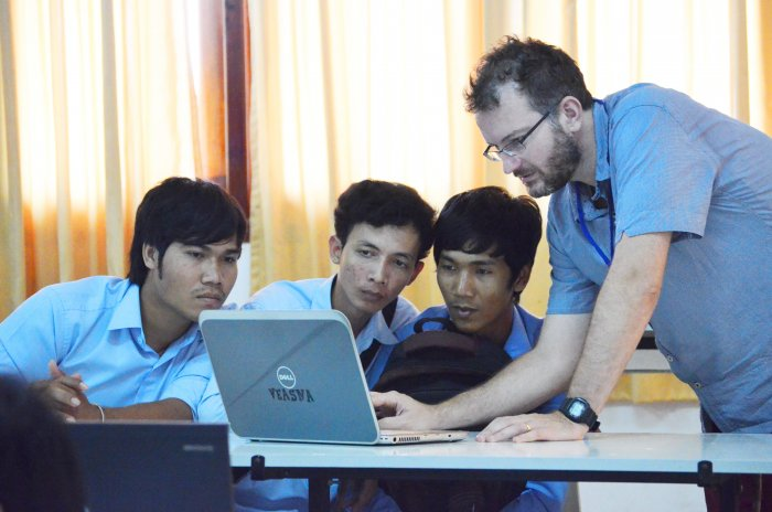 Kai Hendry FOSSASIA 2014, Phnom Penh, Open Source Event in Asia