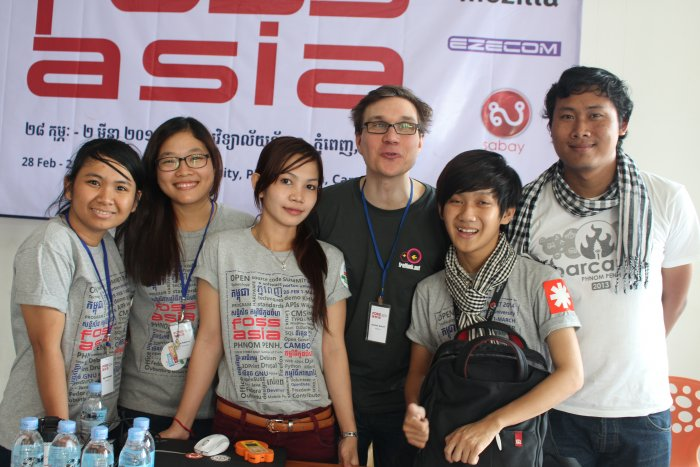Open Source Community in Asia, FOSSASIA Cambodia, Phnom Penh 2015