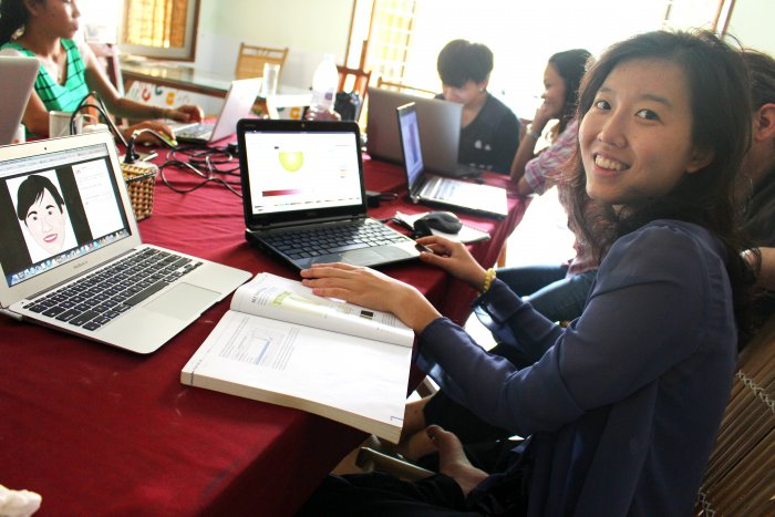 Libre Graphics Asia Workshops at FOSSASIA Cambodia Phnom Penh