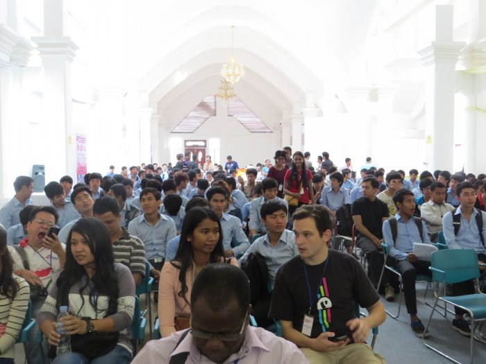 Norton University Open Source Community at FOSSASIA 2014, Phnom Penh Cambodia