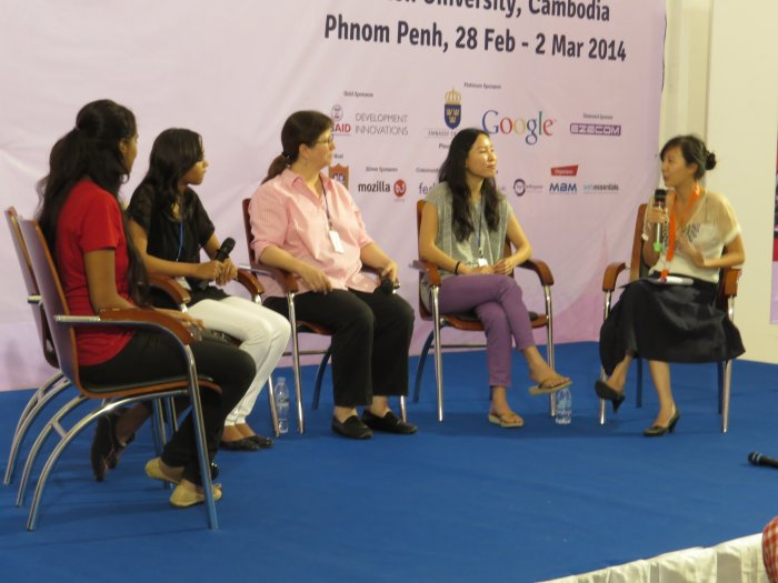 Women in IT and Open Source in Asia, Google and FOSSASIA Cambodia