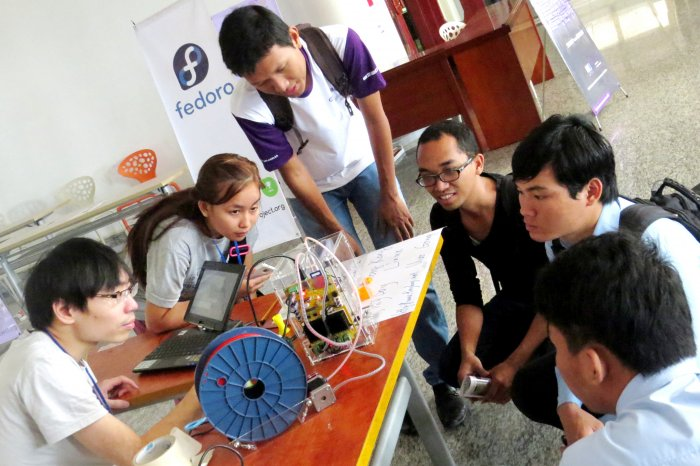 3D Printer, Maker Community at FOSSASIA, Open Source Summit